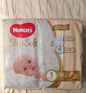 Подгузники HUGGIES 1 84 штуки
