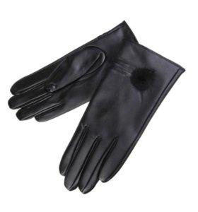 Новые женские кожаные перчатки