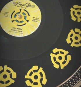 """45 об. адаптер для винила, Vinyl, 7"""", 45 RPM"""