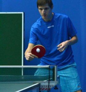 Тренер по настольному теннису. Москва и область