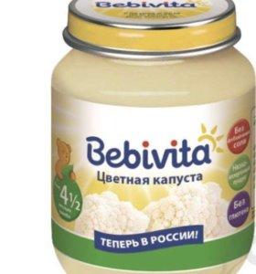 Пюре детское Bebivita