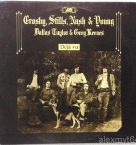 Crosby, Stills, Nash & Young Deja Vu 1970 Germany