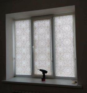Рулонные шторы, жалюзи