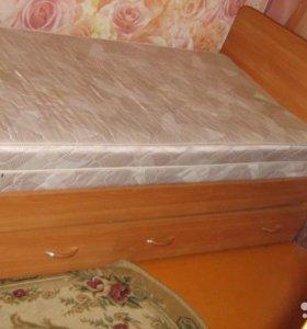 Продается кровать 1сп.