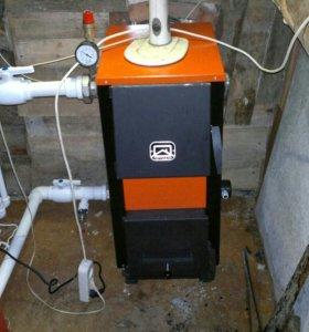 котел купер 150 кв.+гидроаккомулятор на 240 литров