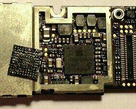 Контроллер питания (u2) замена на iPhone