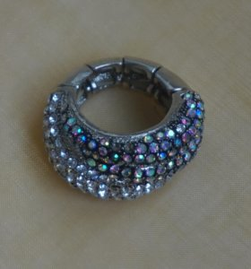 Бижутерия кольцо со стразами