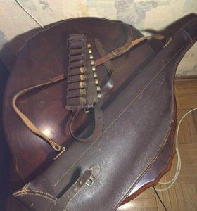 Чехол кожаный для ружья