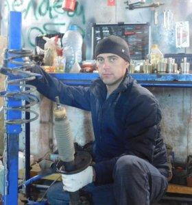 Восстановление газомасляных стоек амортиз, ремонт