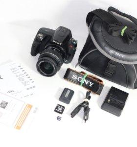 Зеркалка Sony Alpha DSLR-A290 +Объектив+Сумка+Комп
