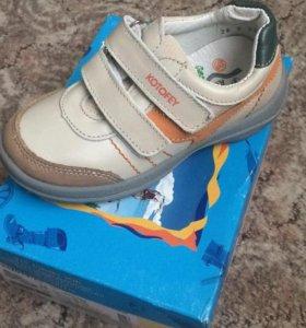 Новые ботинки котофей натуральная кожа