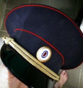 Фуражка, шапка зимняя полиция.