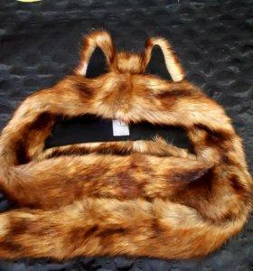 Шапка лисичка