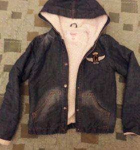 Куртка детская на 8-10 лет