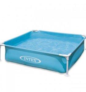 Новый детский каркасный бассейн