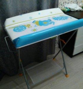 Пеленальный стол+ванночка