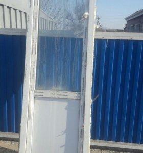 Дверь пластиаовая