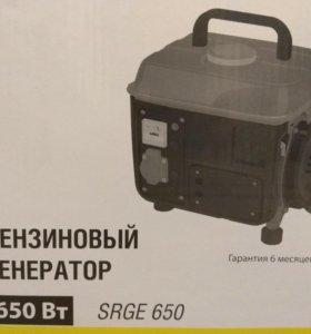 Новый генератор бензиновый, 0,8кВт
