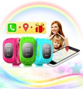 Детские умные часы - телефон с GPS ⌚️ Q50, новые.