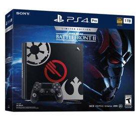 PlayStation 4 Pro Star Wars Bubdle