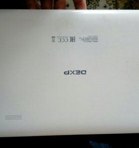 Планшетный ПК. Dexp Ursus A110 +чехол, зарядка