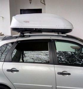 Автобокс Турино Компакт 360 л, Белый