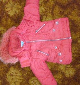 Куртка теплая кико