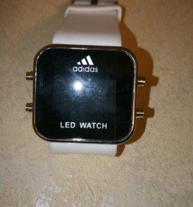 Часы Адидас. Led Watch