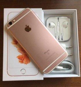 Продам iPhone 6s 64 gb rose gold