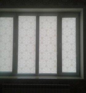 Рулонные шторы и жалюзи выезжаем на дом с образцам