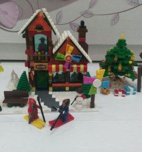 Лего Снежный городок 812 деталей