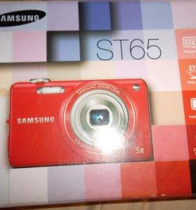 Новый Компактный фотоаппарат Samsung ST65