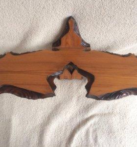 полочка из дерева