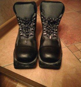 Лыжные ботинки. Размер 38