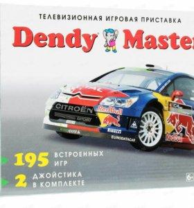 Приставка Dendy+195 игр (8 бит), новая, Дэнди