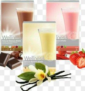 Коктейли для похудения Wellness