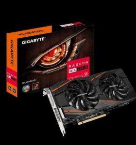 Видеокарта Gigabyte RX 580 8GB GV-RX580gaming-8GD