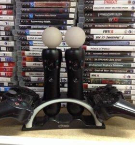 Док-станция для зарядки PS3 контроллеров