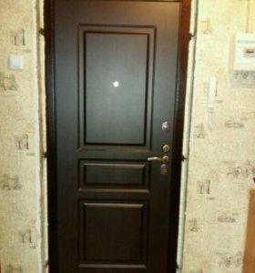 Новая входная металлическая дверь фирмы ГАРДИАН .