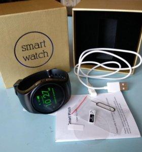 Часы KW-18 умные в подарочной коробке
