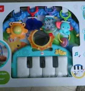 Коврик игровой Fisher Price пианино