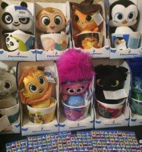Наклейки магнит для покупки колекционных игрушек