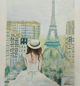 Париж на крыше