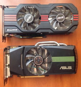 Nvidia GeForce 560ti (2шт.)