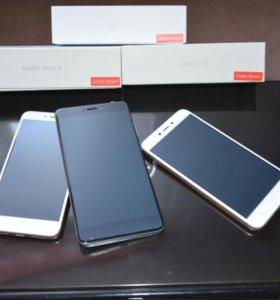 Новые телефоны Redmi 4x/Note 4