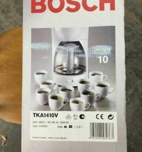 Кофеварка Bosch новая капельная полуавтомат
