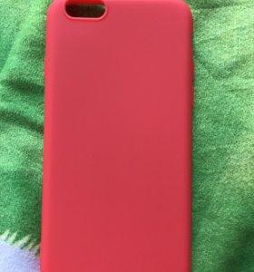 Силиконовый чехол для айфона 6,6s