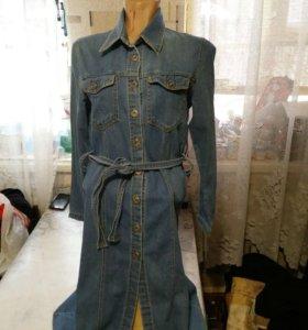 Джинсовое платье xxs