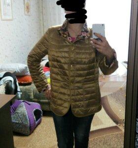 Двусторонняя весенняя куртка