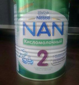Смесь Nan 2 кисломолочная
